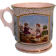 19th Century English Porcelain Christening Mug