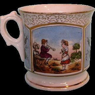19th Century English Porcelain Christening Mug
