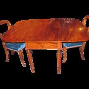American Federal Period Mahogany Pembroke Table Circa 1815 Philadelphia