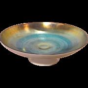 Antique American Steuben Calcite Aurene Glass Bowl Circa 1910