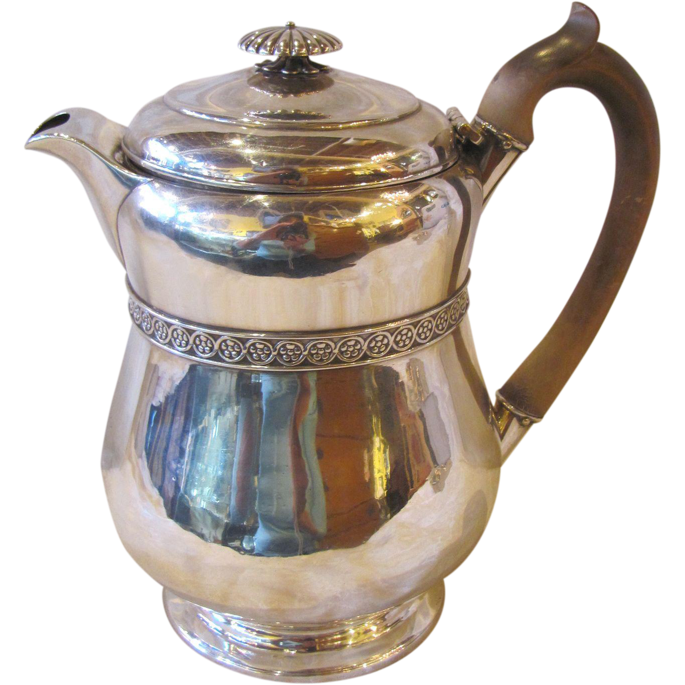 Antique English Sterling Silver Teapot London 1815 Benjamin Smith