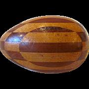 Antique American Folk Art Darning Egg 19th Century
