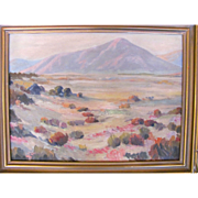 American OIl on Board Painting Henry B. Goode Circa 1930