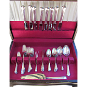 Towle Chippendale Sterling Silver Flatware Service for 8