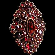 Vintage 10K Garnet Ring Circa 1920's