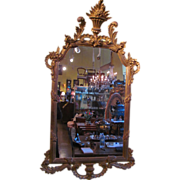 Large Antique Italian Gilt Mirror Circa 1910