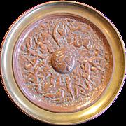 European Copper and Brass Tazza !9th Century