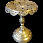 Victorian Brass Trivet Stand 19th Century