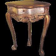 Antique Italian Painted Corner Table Circa 1750