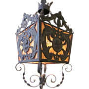 Antique Renaissance Revival Style Chandelier circa 1920