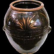 Large Antique Chinese Storage Jar 19th Century