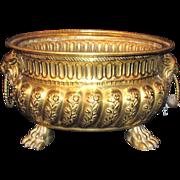 Antique Dutch Brass Wine Cooler Circa 1800