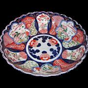 Antique Japanese Imari Bowl Meiji Circa 1880