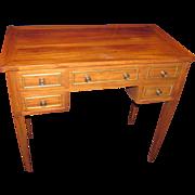 Antique Continental Mahogany Dressing Table Circa 1800