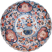 Antique Japanese Imari Dish Late Edo to Early Meiji Circa 1840
