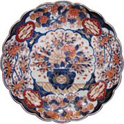 Antique Japanese Imari Dish Meiji Period Circa 1880