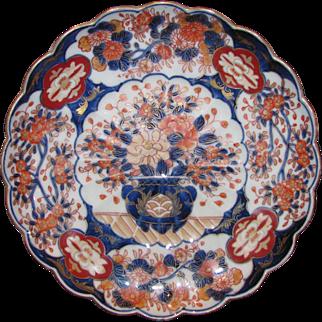 Antique Japanese Imari Dish Meiji Period Circa 1880