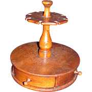 Antique American Spice Box and Spoon Stand Circa 1880