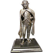 Antique Bronzed Statue Of Napoleon Circa 1900