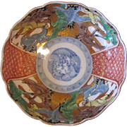 Antique Japanese Imari Bowl Meiji Period 19th Century