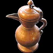 Antique Islamic Copper Coffee or Tea  Pot Late 18th Century