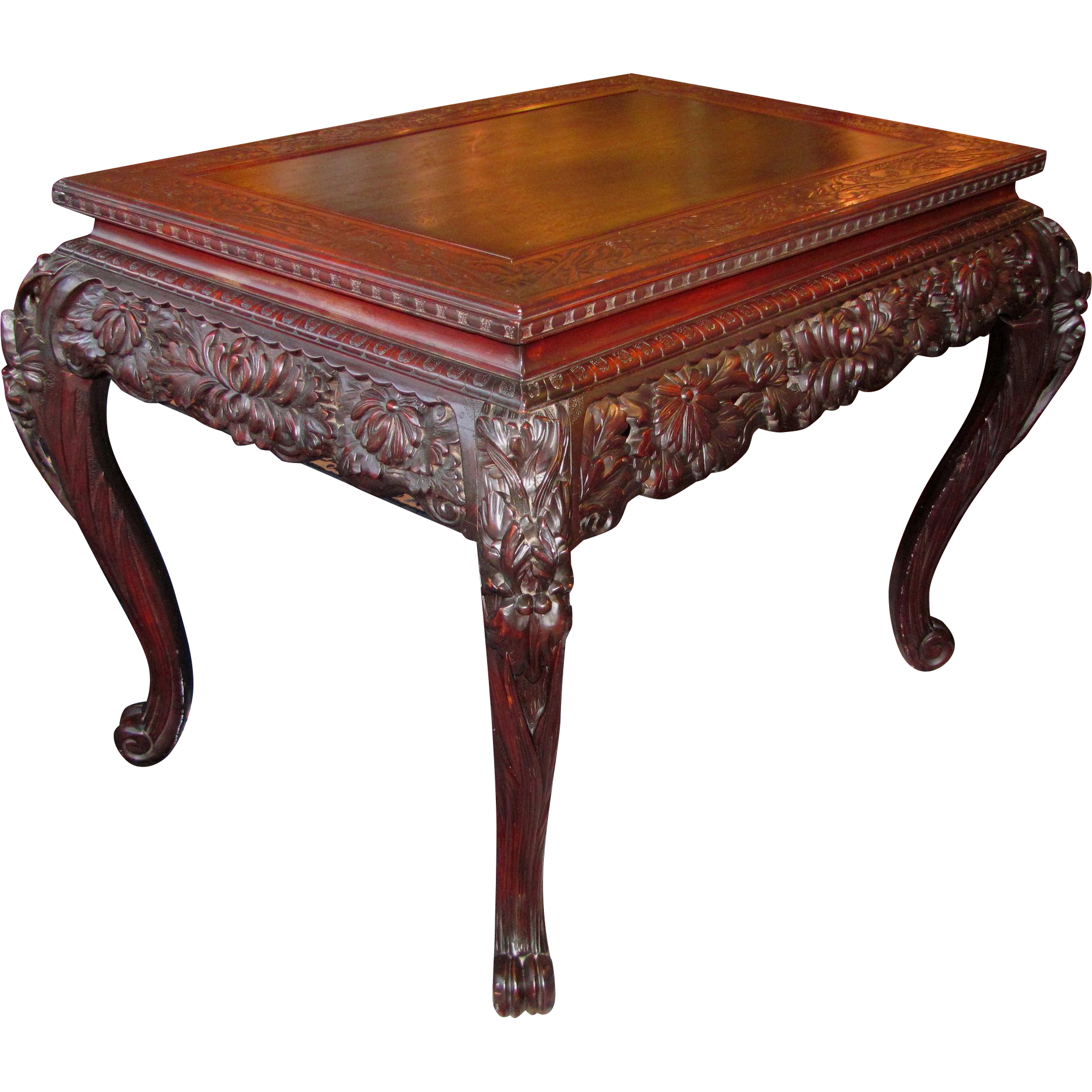 antique asian tables
