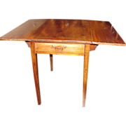 Antique English Georgian Mahogany Pembroke Table Circa 1790