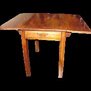 Antique English Georgian Mahogany Pembroke Table Circa 1790