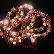 925 Bracelet Italy Rose Gold Wash Quality