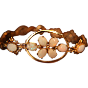 Opal Bracelet Genuine Rolled Gold 1/20 12K Reds