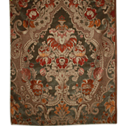 Tapestry Panel Sample Vintage Textile