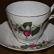 Vintage Regency China Cup Saucer Set Demitasse