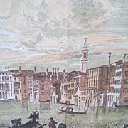 Estate Canvas Painting Mural Backdrop Venice Italy