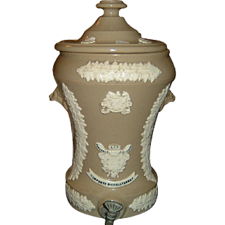 Antique Stoneware Water Filter Ornate Kitchenalia Super