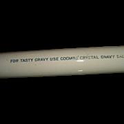 Vintage English Ironstone Advertising Coombs Gravy Rolling Pin Kitchenalia
