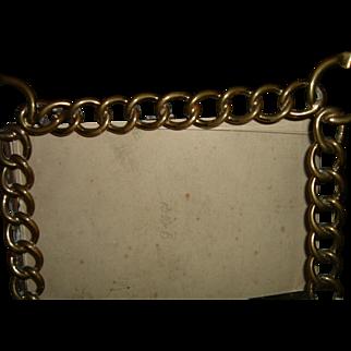 Antique Brass Ring Frame 2 ways Rare