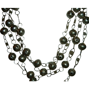 Antique 925 Silver Extra Long Chain Fabulous