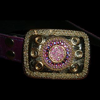 Vintage Designer Belt by Sizan Leather
