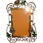 Antique English Brass Frame