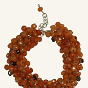 Aventurine & Smokey Quartz Bracelet