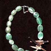 Fluorite & Sea Thorn Necklace