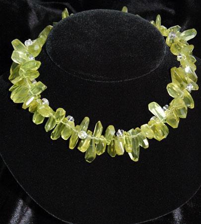 Lemon Citrine & Amethyst Necklace
