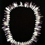Amethyst & Hematite Necklace