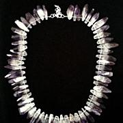 Amethyst & Hematite Necklace
