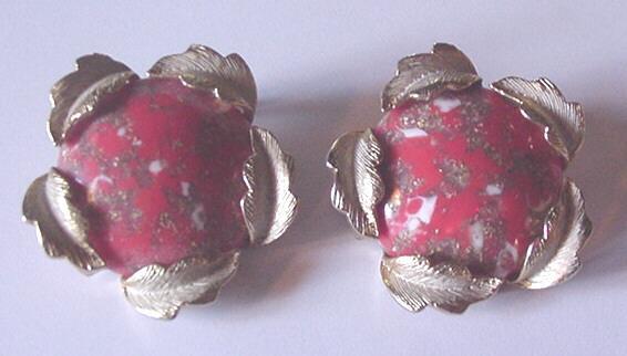 Big and Vintage Judy Lee Earrings
