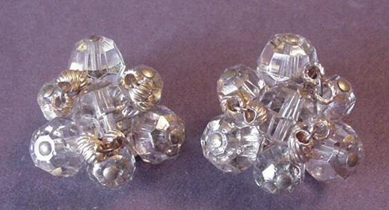 Hattie Carnegie Crystal Earrings