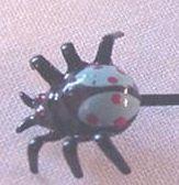 Itsy Bitsy Enameled Bug Pin
