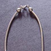 Vintage Coro ID Charm Bracelet