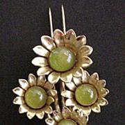 Floral Fur Clip