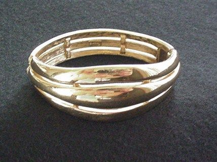 Golden Trifari Bracelet